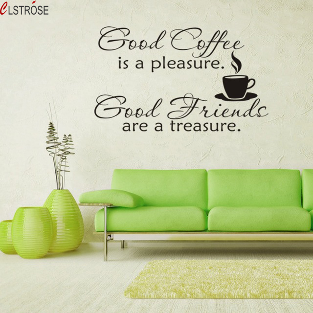 Clstrose for wall new house decoration 3d wall stickers home decor mural art vinyl sticker kids living room quote good friends in wall stickers from home