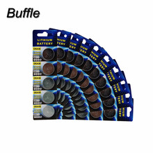 50pcs/10Pack CR2430 270mAh 3V Button Cells Batteries DL2430 KECR2430 ECR243 For Car Remote Control Watch Coin Battery