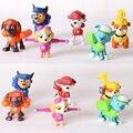 6 pçs/set Patrulha Brinquedo Do Cão Filhote de Cachorro Para Crianças Anime Figura de Ação Brinquedo Figuras PVC Modelo Brinquedos Cão de Patrulha Canina Patrulla Juguetes