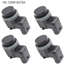 4PCS Parking Sensor PDC For AUDI A1 A3 A4 A5 A6 For VW Passat Tiguan Touran Polo Golf,SEAT,SKODA Octavia 1S0919275A