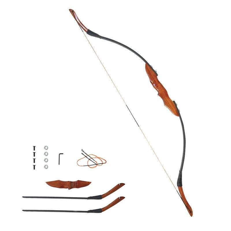 recurvo arco pode takeddown arco para tiro com arco de caça