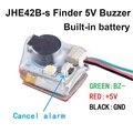 JHE42B-S Finder 5 в супер громкий звонок трекер 100 дБ со светодиодный звуковой сигнализацией встроенный аккумулятор для RC FPV Дрон Контроллер полета - фото