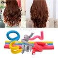 10Pcs Soft Magic Foam Hair Rollers Curlers Bendy Twist Curls Sponge Curling DIY Styling Tools Women Hair Accessories Maker Stick