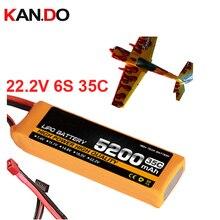 6s 35c 22,2 v 5200 mah модель самолета батарея 35C 5200 mah aeromodeling батарея модель самолета литий-полимерная батарея самолет батарея