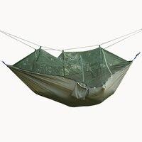 في المظلة القماش أرجوحة ناموسية السوبر المحمولة التخييم خيمة التخييم خيمة خضراء معلقة كرسي أرجوحة كرسي أرجوحة