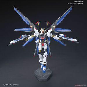 Image 4 - Bandai Gundam HGCE 201 HGUC 1/144 ZGMF X20A Sciopero Freedom Mobile Suit Assemblare Modello Kit Action Figure In Plastica Modello