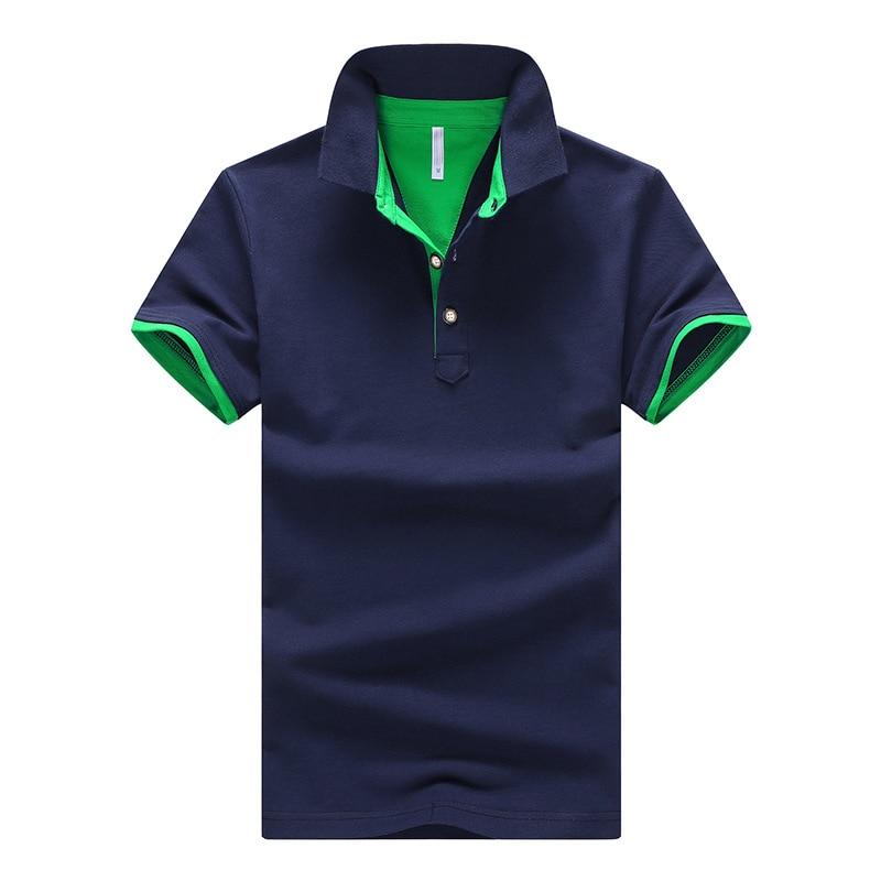 Spring Autumn Male Mens Cotton 95%Polo Business Fashion short sleeve wholesale price lot colors shirts size M L XL XXL XXXL 4XL