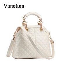 Female Package 2016 Brand Design Female Diamond Lattice Handbag Women Shell Package Single Shoulder Bag Ladies Messenger Bag