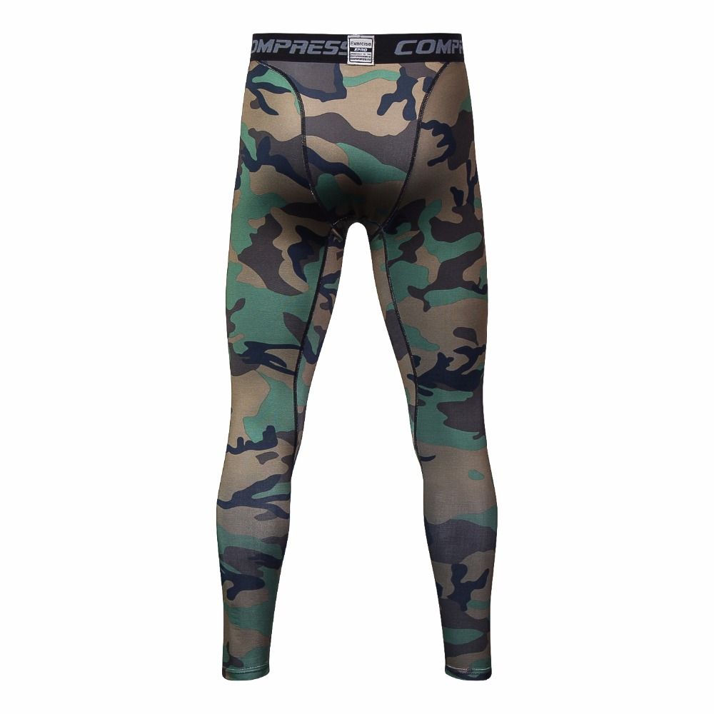 3D printing Camouflage Pants Men Fitness Mens Joggers Compression Pants Male Trousers Bodybuilding Tights Leggings For men 2