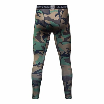 3D printing Camouflage Pants Men Fitness Mens Joggers Compression Pants Male Trousers Bodybuilding Tights Leggings For men 7