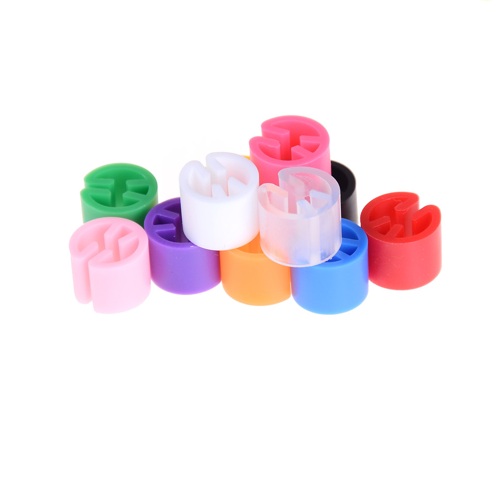 Plastic Snap On Hanger Size Markers Hangers Clips Circle Marker Label Tube Marked 100pcs Personalized Hangers Large Clothes Custom Tags String Garment Garment Tags