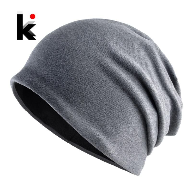 Autumn Winter Beanies Men Women Solid Color Skullies Bonnet Hats Female Unisex Fashion Turban Hats Unisex Hip Hop Gorros Caps