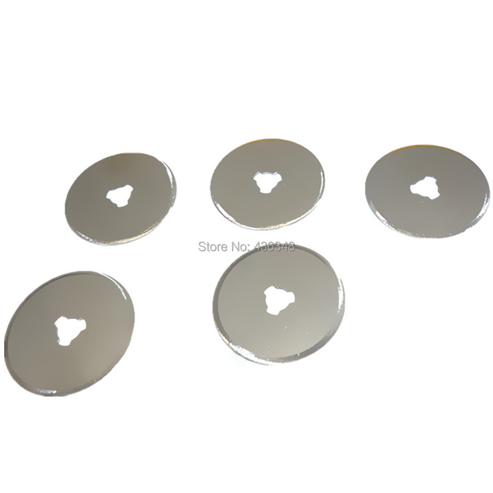 Pack of 5pc rotary cutter blade quilters sewing fabric for Craft vinyl cutter reviews