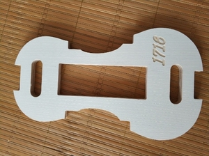 Image 3 - 1 set 4/4 violino collo/F foro tempietto e Muffa/Muffa tempietto violino strumenti di creazione di gioielli