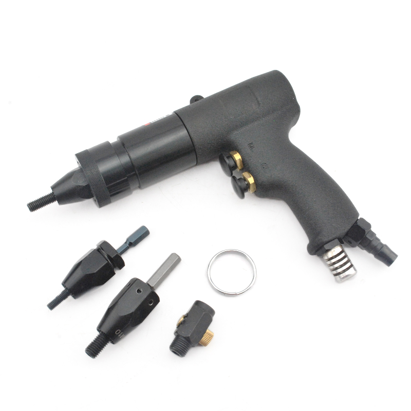 Air Rivet Nut Gun M6/M8/M10 Self locking Pneumatic Riveting Machine Pneumatic Riveting Nut Tools HG 0610