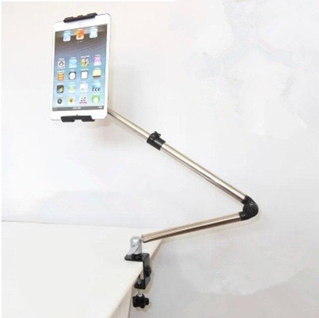 Tablet máy tính để bàn Đứng Nhôm 360 Rotating Căng Ra Cánh Tay Dài Máy Tính Bảng Chủ Lazy Bed Bảng Núi Bracket đối với iPad Mini Air