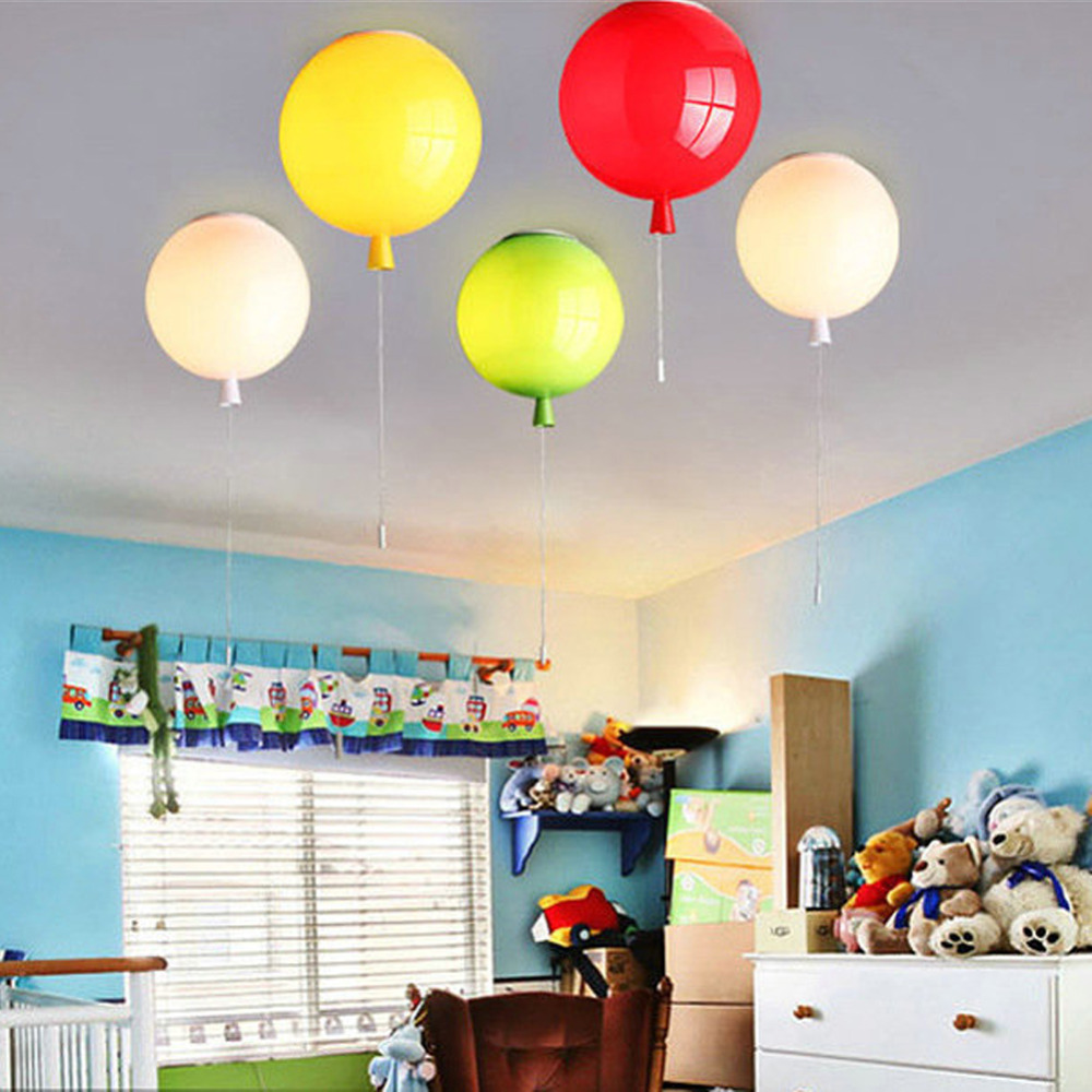 Dikale Creative Ceiling Lights Balloons Shape Children Bedroom Ceiling Lamp Dining Room Home Lighting Light Fixtures Candelier
