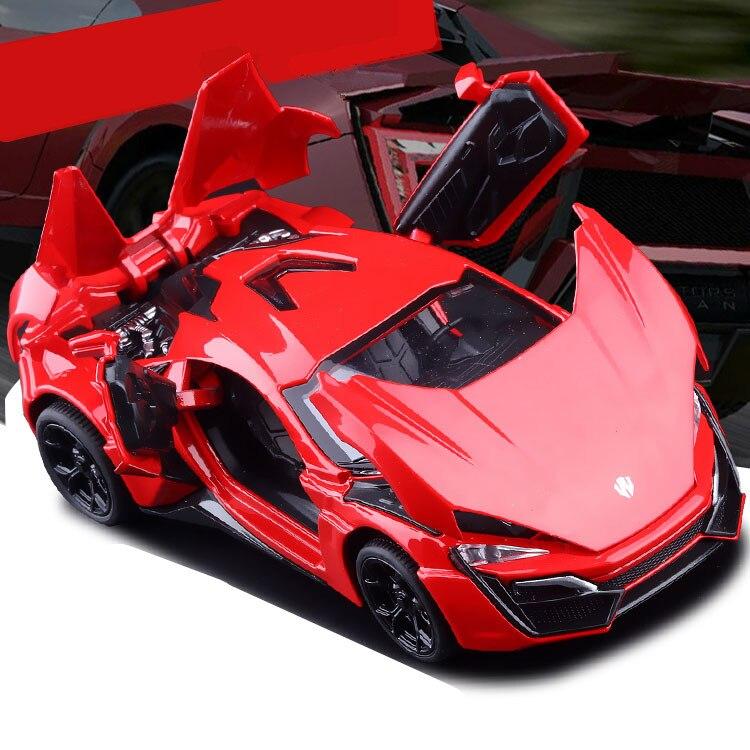 Aliexpress Com Buy Lykan Hypersport Fast Furious Super Cars