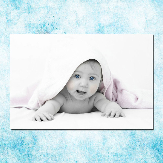 Cute Baby For Mama Art Silk Canvas Poster 13x20 24x36 inches ...