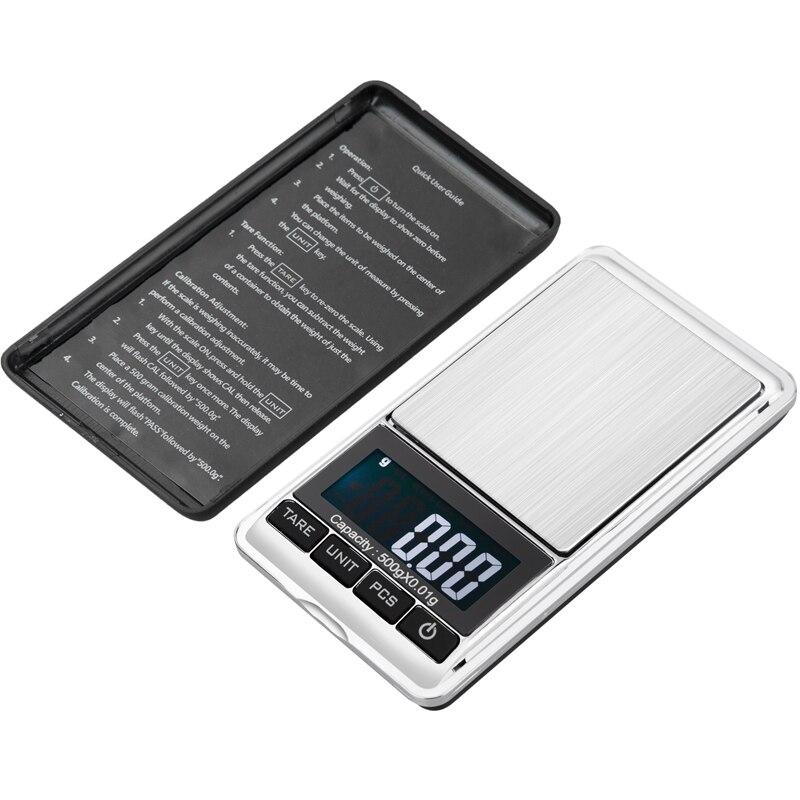 500g 0,01 g skaitmeninės kišeninės svarstyklės 500G 0,01 g - Matavimo prietaisai - Nuotrauka 4