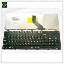 แป้นพิมพ์รัสเซียสำหรับ FUJITSU Lifebook A530 A531 AH530 AH531 AH502 NH751 RU สีดำ