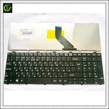 Teclado ruso para Fujitsu Lifebook A530 A531 AH530 AH531 AH502 NH751 RU negro