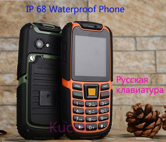 sale retailer 13288 010d1 US $36.6 |Original S6 Long standby GSM Senior old man outdoor IP68 Rugged  Waterproof phone Russian Arabic Keyboard Dual sim B36 A8i a11 on ...