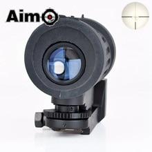 Aim-O Airsoft Riflescope 4X30 Tactical WADSN Type Optical Sight Rifle Scope Softair Collimator Telescope AO3035 Hunting Optics