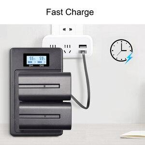 Image 5 - NP F960 970 NP F970 NPF970 LCD digital battery charger for SONY F930 F950 F770 F570 CCD RV100 NP F550 NP F770 NP F750 F960 F970