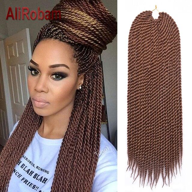 Havana Mambo Twist Crochet Box Braids Crochet Hair Extensions 22