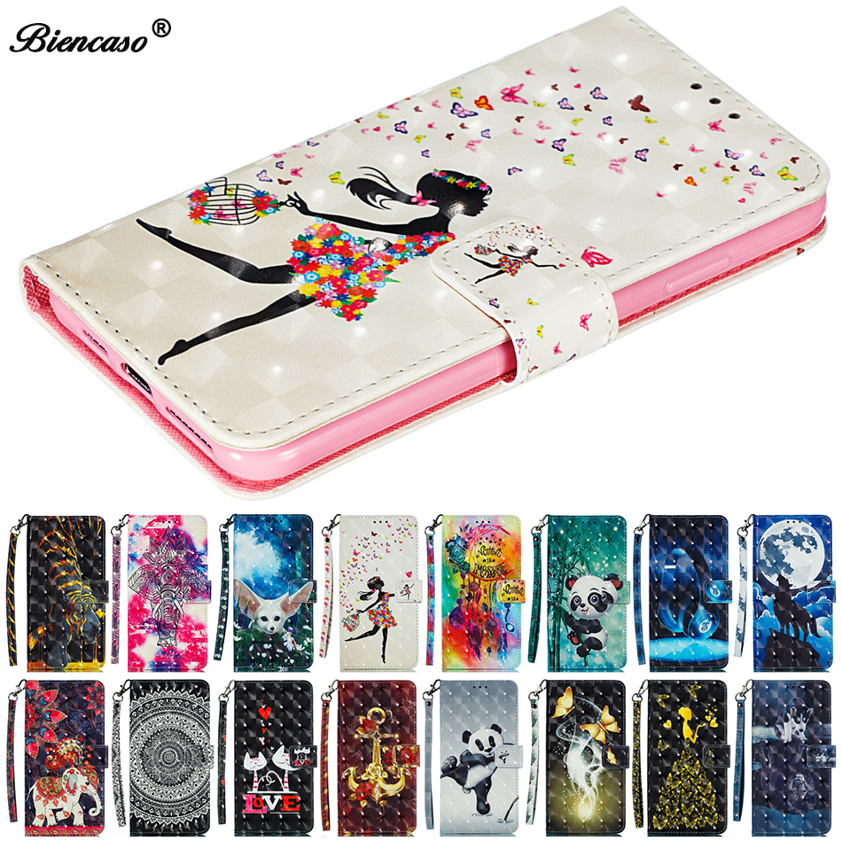 For Huawei P30 Pro Mate 10 20 Lite P30 P20 Nova 4E 4 3e 2i Leather Wallet Phone Case For iPhone 6 6s Plus Flip Stand Bag Cover