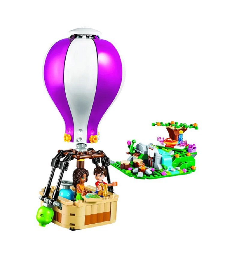 BELA 10546 compatible with legoings bricks girl Friends Heartlake Hot Air Balloon s Building Blocks DIY Bricks toys Gift 41097BELA 10546 compatible with legoings bricks girl Friends Heartlake Hot Air Balloon s Building Blocks DIY Bricks toys Gift 41097