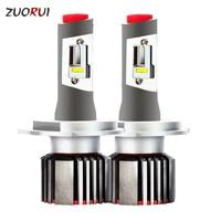 ZUORUI LED H4 Bulb H1 H3 Led H7 H11 90039005 9006 9012 5202 HB3 HB4 HB2 Car Light Car Led Headlight Bulb Auto Headlamp Product