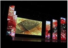 Preço de atacado fundo de estágio full color aluguer gabinete p4 p5 p6 interior flexível malha transparente levou exibir a tela grande