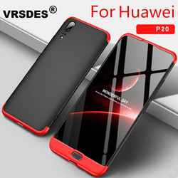 VRSDES Coque For huawei Mate 20 Pro P20 lite Case 3 in 1 Hard Hybrid Protect Case For huawei Honor 8X 7X 6X MAX Y9 2019 cover