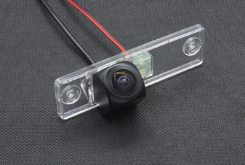 MCCD Fisheye 1080P Car Parking Rear view Camera For Toyota Fortuner SW4 2005 2006 2007 2008 2009 2010 2011 2012 Camera Reverse image