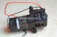12V Mini Gear Pump Self Sucking Water Pump 0 100 Degrees Corrosion Resistant ZC A250