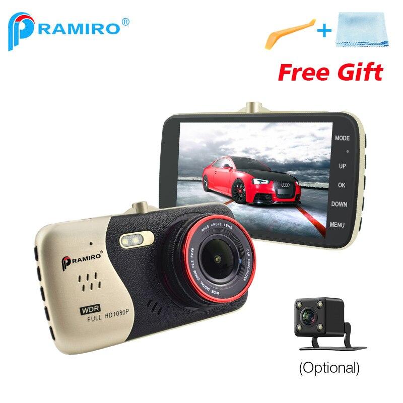 Original 4.0 pulgadas IPS pantalla coche DVR Novatek NTK96658 Cámara T810 Dash Cámara Full HD 1080 p video 170 grados Dash cam