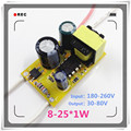 5pcs (8~25)*1W 300ma,AC 180~260v High power Driver For LED Lamp Light Constant Current Driver Power Supply