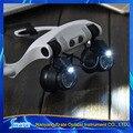 10x 15x 20x 25x Multi-Power Llevaba Gafas De Ojos Gafas de Reparación de Relojes Lupa de Aumento Con Luz