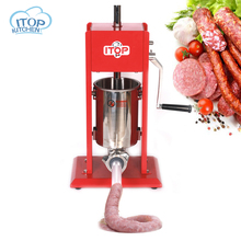 ITOP ST-3 home use sausage maker 3L,manual filler machine,sausage making machine