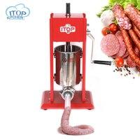 ITop ST 3 домашнего использования Колбаса чайник 3L, руководство колбаса наполнителю, для изготовления колбасных изделий