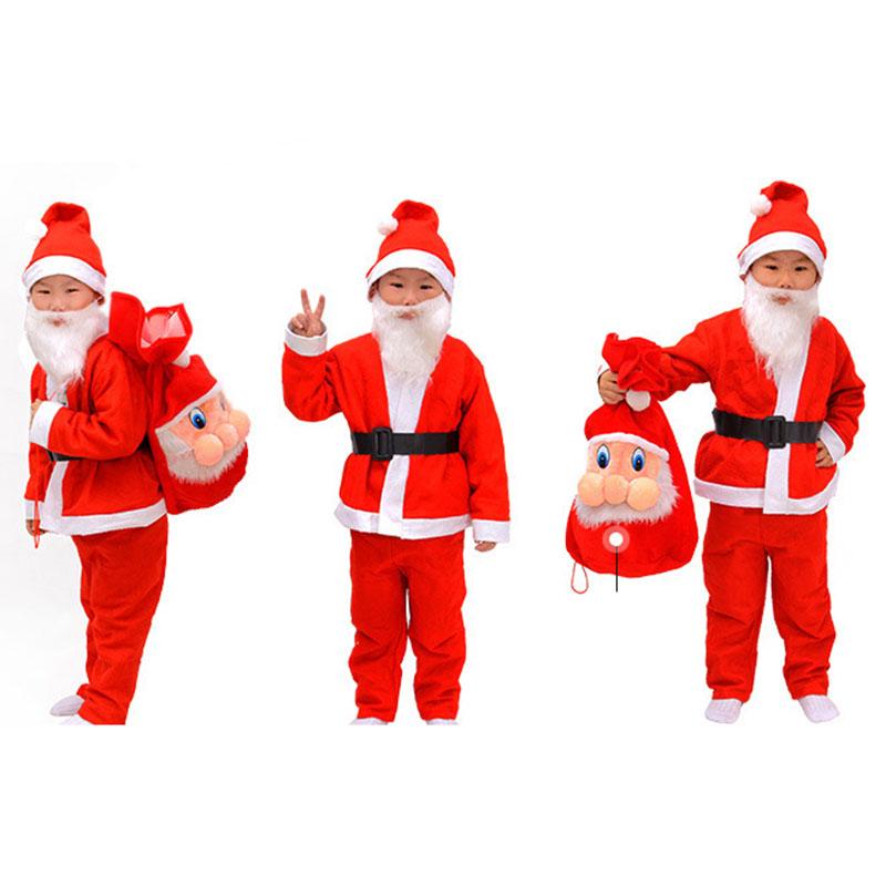 trajes de navidad de santa claus nios adultos juego parece ropa de disfraces de halloween ao