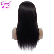ARIEL Brazilian 13*4 Lace Frontal Wigs Pre Plucked With Baby Hair Remy Wigs Straight Lace Front Human Hair Wigs For Black Women(China)