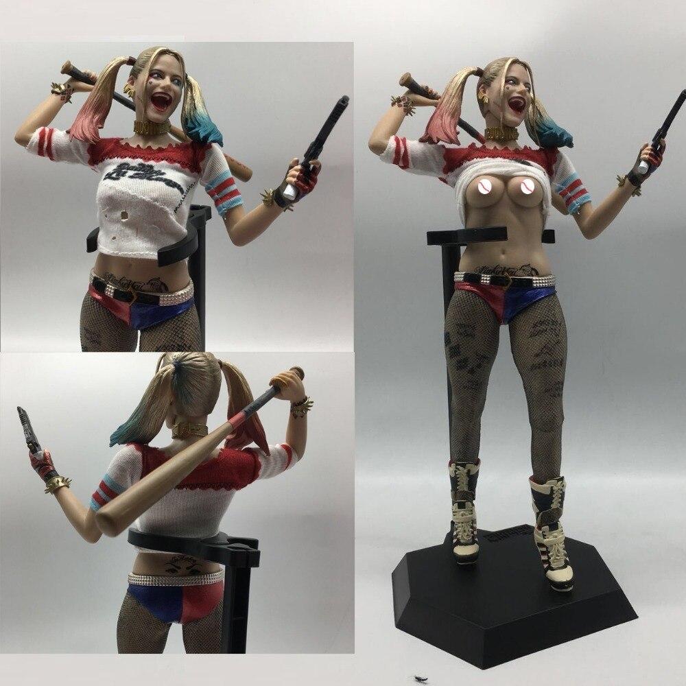 12 inch 30 cm Reali Puo essere Spogliarsi Giocattoli Sexy Squad Harley Quinn Action PVC Figure Da Collezione Model Toy bambola