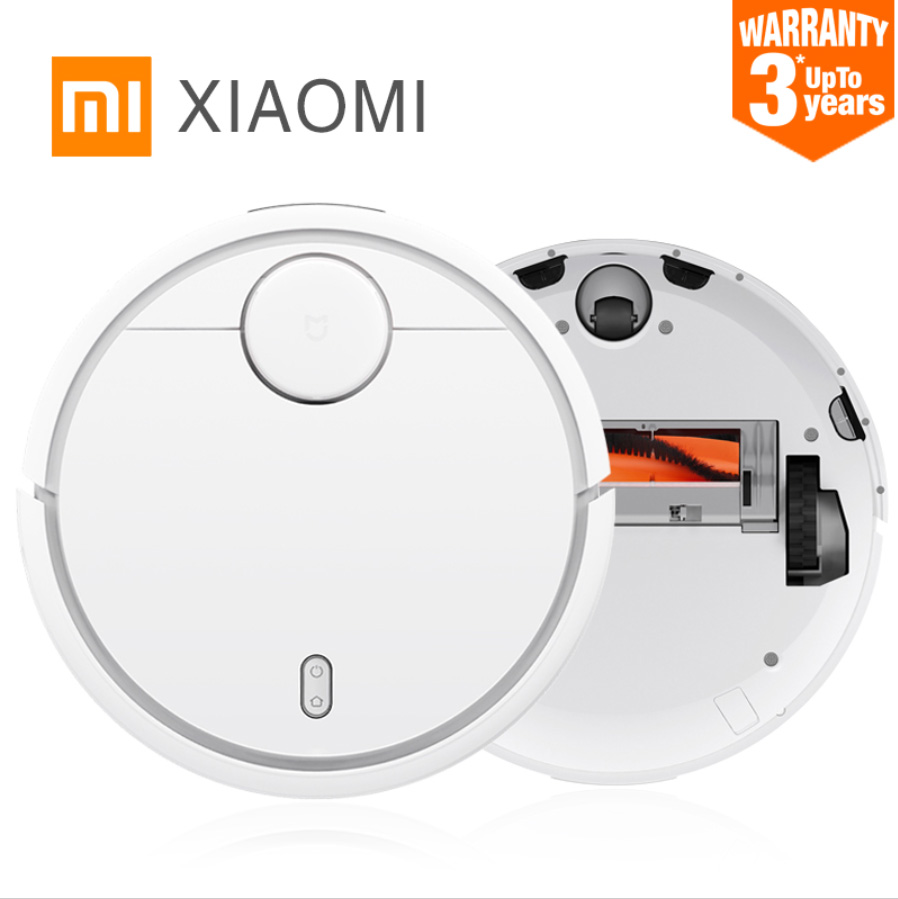 2016 Original XIAOMI MI Robot Vacuum Cleaner for Home Automatic Sweeping Dust Sterilize Smart Planned Mobile App Remote Control original xiaomi mi robot vacuum
