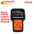 DHL Free !Original  Foxwell NT630 AutoMaster Pro ABS Airbag Reset Scan Tool Air Bag Crash Data Reset Car Diagnostic Scanner