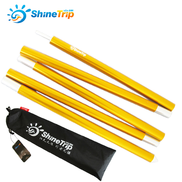 ShineTrip 2pcs/sets Aluminum Alloy Canopy Outdoor C&ing Pple Rod C&ing Tent Bracket Pole C&ing  sc 1 st  AliExpress.com & ShineTrip 2pcs/sets Aluminum Alloy Canopy Outdoor Camping Pple Rod ...