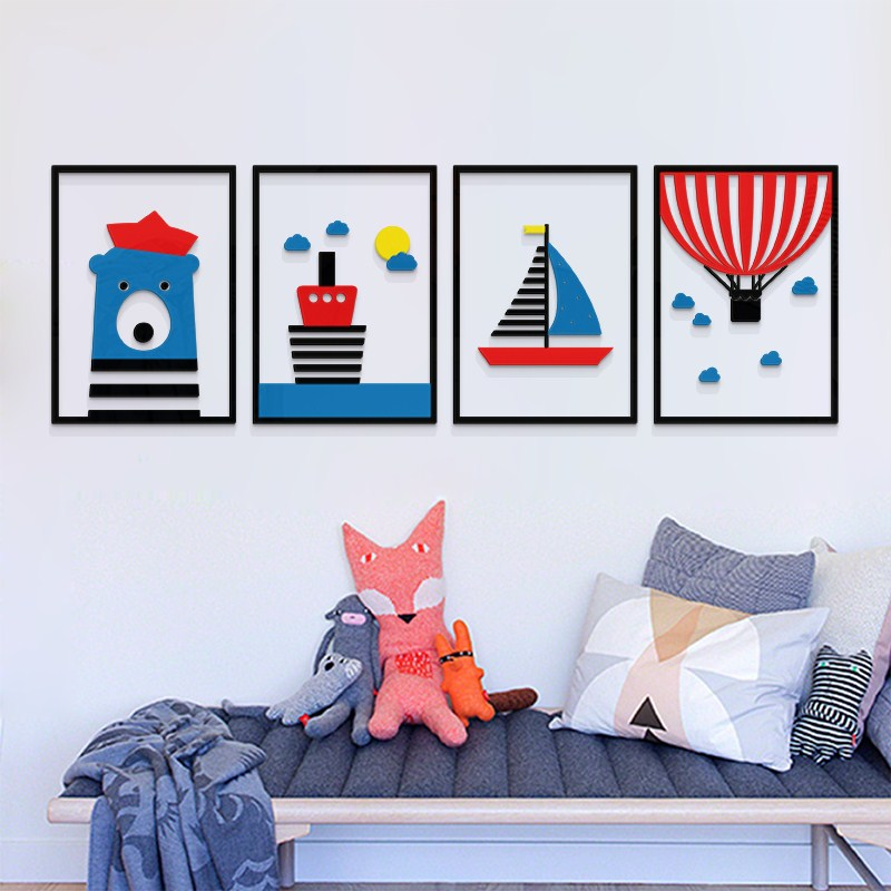 Modern, Room, Living, Bedroom, DIY, Sticker