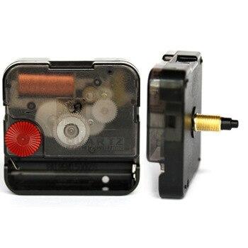 a9d33d549094 Reloj de pared de mecanismo silencioso movimiento de cuarzo reloj de los  relojes de reparación de piezas de mecanismo de reloj negro movimiento de  reloj ...